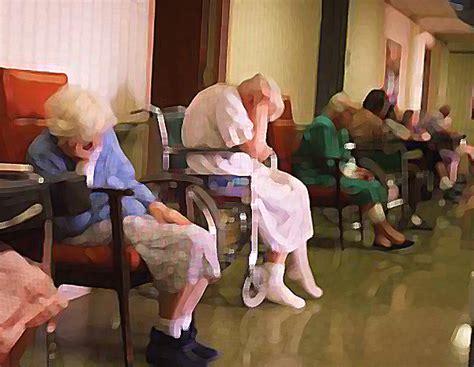 asleep nursing home