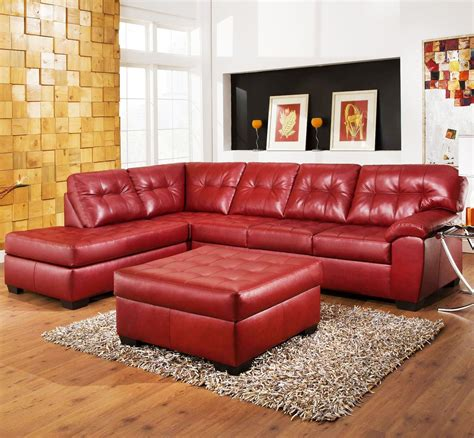 leather sectional with ottoman 20 best ideas of leather sectionals with ottoman in