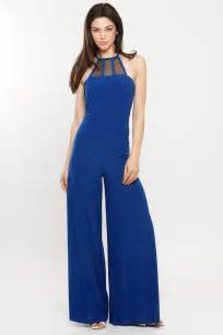 halter wide leg jumpsuit cicihot pants online store