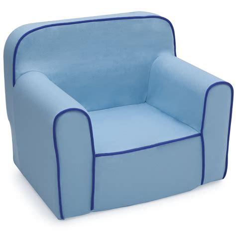 toddler foam chairs delta children delta children foam snuggle chair blue