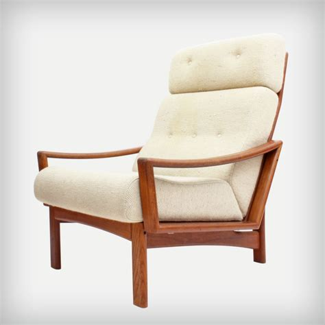 teak armchair grete jalk high back teak armchair model vario good
