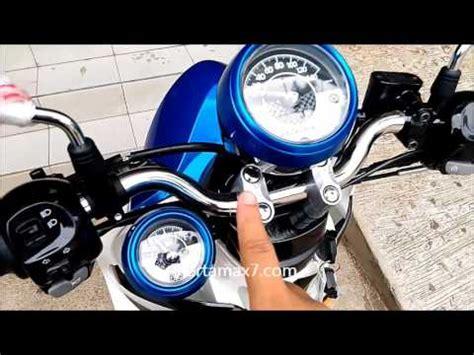 yamaha fino sporty 125 blue core walk around yamaha mio fino blue core 125 indonesia by