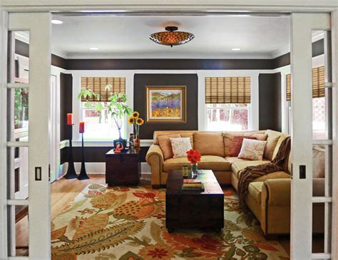 traditional family room country chic family and media room traditional family