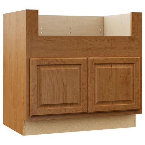kitchen cabinets sink base hton bay hton assembled 36x34 5x24 in farmhouse