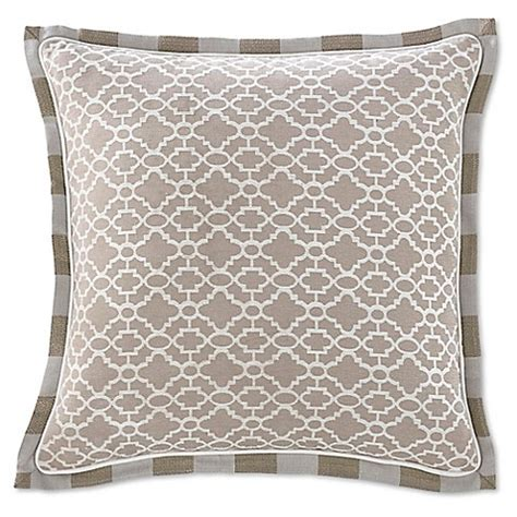 euro pillows bed bath and beyond buy croscill 174 anessa european pillow sham in latte from