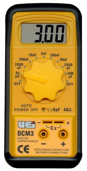 capacitance meter keithley uei dcm3 digital capacitance meter