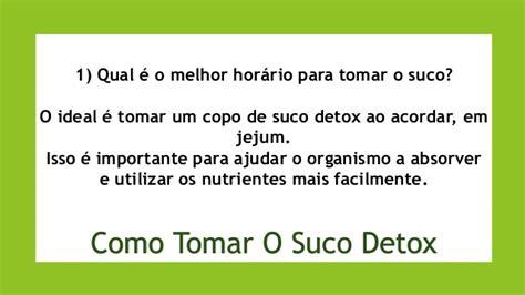 Detox 3 Im Como Tomar by Suco Detox Como Tomar E Ter Melhores Resultados