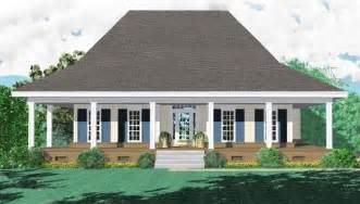 One Story House Plans With Wrap Around Porch 653881 3 Bedroom 2 Bath Southern Style House Plan With