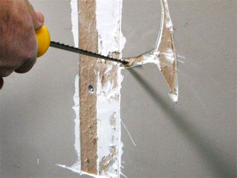 how to service how to repair cracks and holes in drywall how tos diy