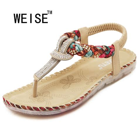 sandals shoes 2016 new exquisite bohemian national rhinestone