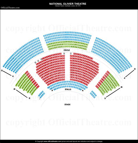 lyttelton theatre national seat map and prices