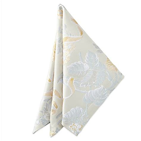 bed bath and beyond napkins waterford 174 linens eva napkins set of 2 bed bath beyond