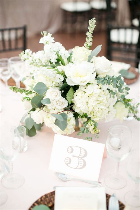 Wedding Flower Table Centerpiece by Garden Inspired Wedding In St Louis Table