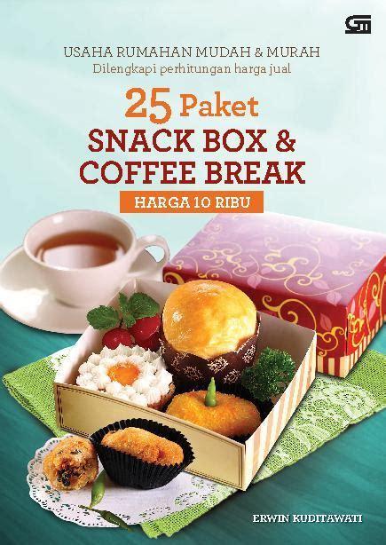 25 paket snack box coffee harga 10 ribu book by