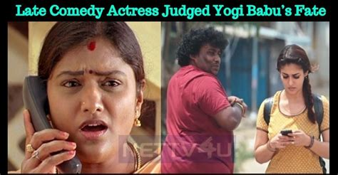 tamil actor yogi babu comedy watch devathai successful tamil television serial