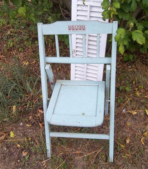 baby tenda crib treasury vintage aqua babee tenda folding chair toddler