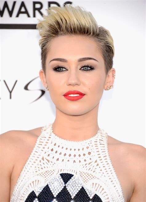 Miley Cyrus Pixie Haircuts 2018