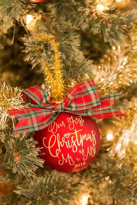 diy ornaments for newlyweds diy newlywed ornaments
