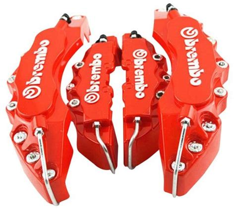 Handfat Universal Brembo Crom souq brembo front and rear universal disc brake caliper cover uae