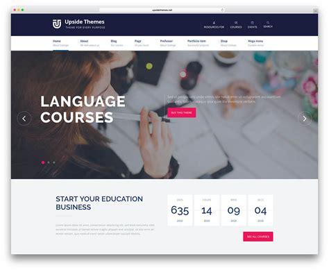 themes within education 20 best wordpress education themes for your wordpress