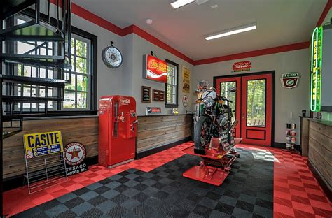 vintage garage house design and decor coca cola decor vintage posters coke machines and diy ideas
