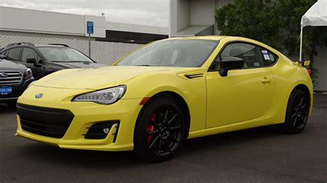 subaru yellow subaru brz serie yellow 2017 500 especiales