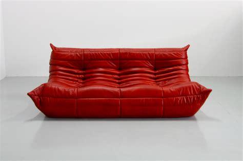togo sofa by ligne roset vintage leather togo sofa by michel ducaroy for ligne