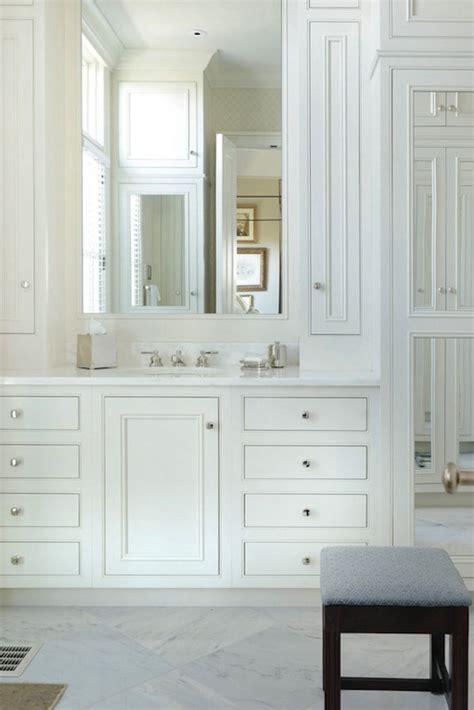 All White Vanity white vanity with white marble top traditional bathroom all alabama
