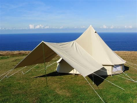 canvas tent awning large awning cool canvas tent company