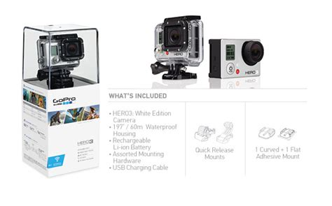 Jual Gopro Hero3 White Edition gopro hd hero3 white edition produkt wycofany