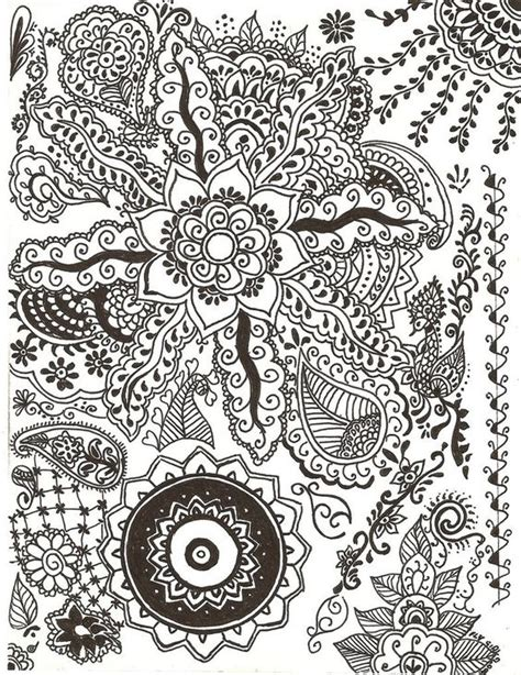 design art on paper paper paintings henna designs in ink by flygirlpml on