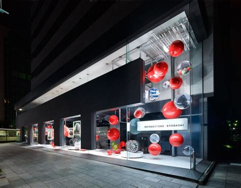 exhibition booth design japan bridgestone communication space by waltz tokyo 187 retail