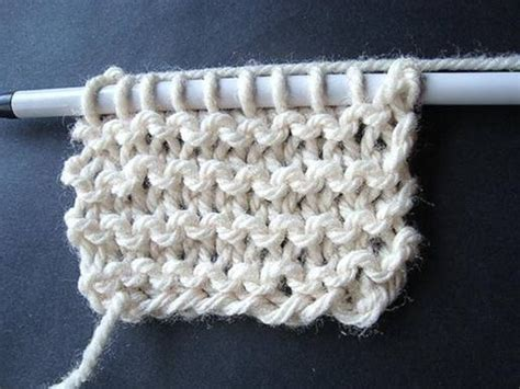 knit one row purl one row knitting tutorial knit stitch allfreeknitting