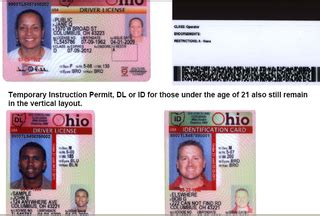 pin ohio drivers license template on pinterest