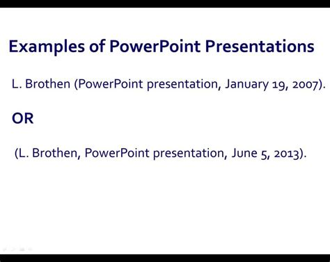 Apa Style Powerpoint Presentations Youtube Apa Format For Powerpoint Presentations