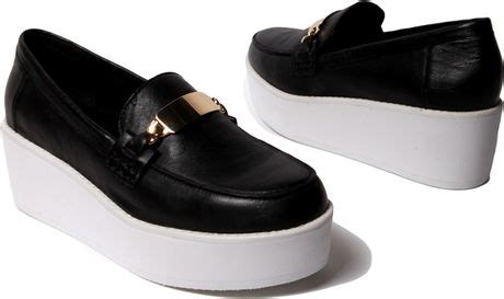 steve madden platform loafers steve madden j fresh platform loafer in black black
