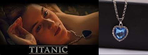 titanic film jewellery movie jewellery titanic the heart of ocean blue diamond