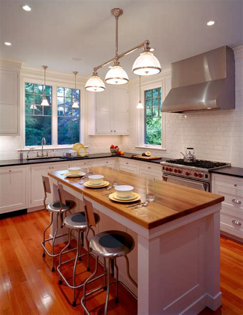 kitchen islands and breakfast bars updating a traditional chevy home traditional