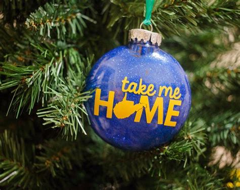 take me home west virginia ornament