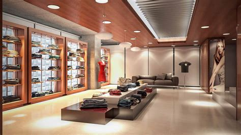 Commercial Kitchen Designs by Fashion Showroom Zero Inch Interior S Ltd