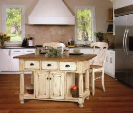 Country Style Kitchen Island Custom Amish Country Kitchen Island