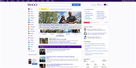yahoo layout change yahoo changes its home page layout looks so much better