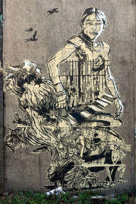 swoon biography artist pbs arts off book street art featuring olek swoon