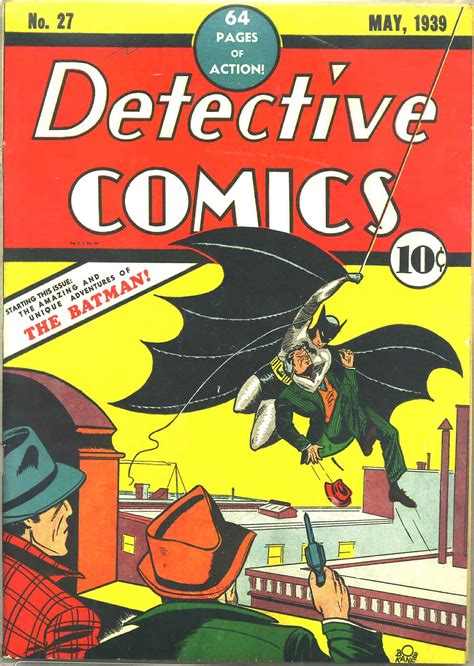 the top ten batman covers from each era part 1 the golden age comics astonish