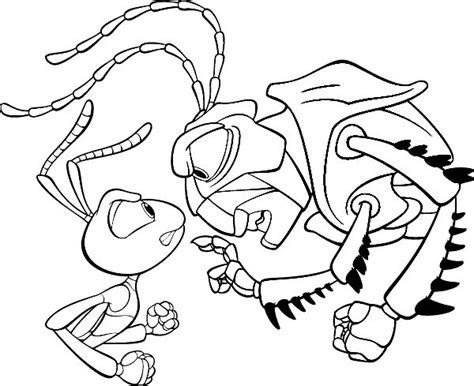 a bugs life coloring pages coloringpages1001 com
