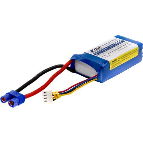 e flite e flite 1300mah 3s 11 1v lipo battery with ec3