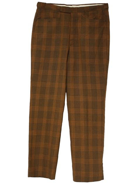 vintage farah pants farah mens rust