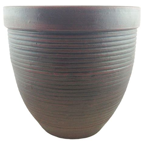 Home Depot Ceramic Planters by 15 In Ceramic Johanna Planter Cr10494 15 The Home Depot