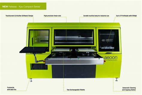 Printer Dtg New Era Aeoon Technologies Gmbh New Aeoon Compact Dtg Printer Fespa Amsterdam