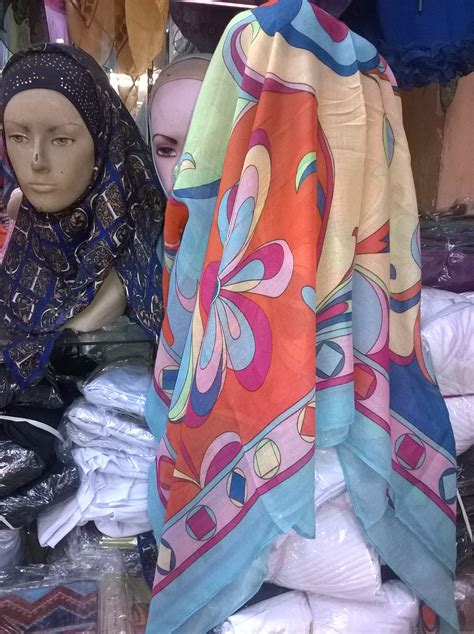 Grosir Jilbab Segi Empat Motif Tanah Abang Jilbab Motif La Moda Segi Empat Motif Lamoda